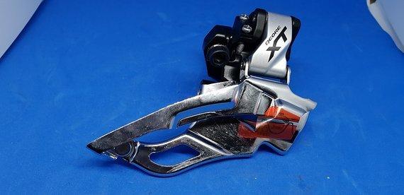 Shimano XT FD-M781A 3fach Schelle Neu Dual Pull
