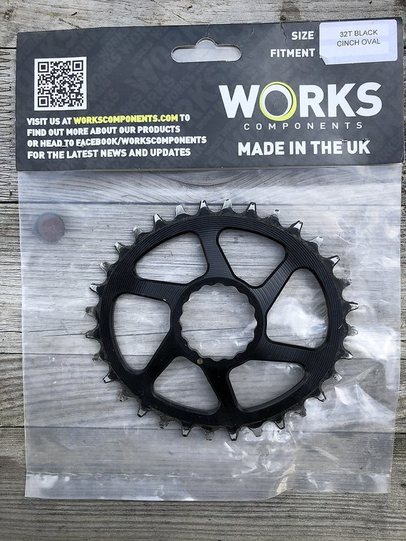 Works Components Oval Narrow Wide Chainring 32T - Raceface Cinch Fitment