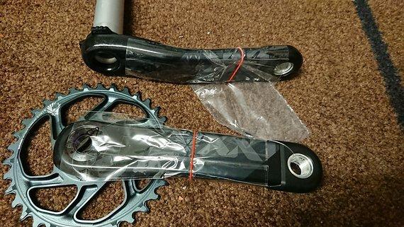 SRAM XX1 AXS Kurbel 170mm Dub 34t neu!