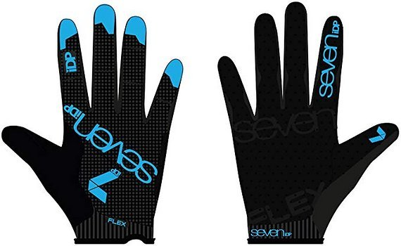 Seven Idp Flex Gloves black Gr. M *NEU*
