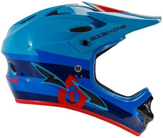 661 SixSixOne Comp Bolt Fullface DH Helm Gr. XL *NEU*