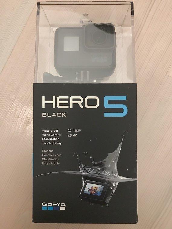 Gopro Hero 5 Black Edition 4K OVP wNEU !!!