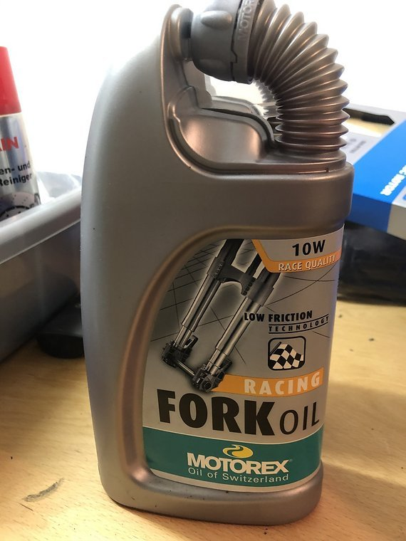 Motorex Racing Fork Oil Set 2 Liter 5wt + 10wt