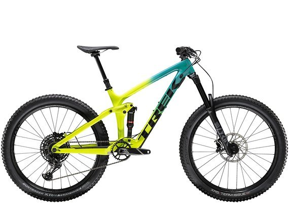 "Trek Remedy 9.7 Carbon 27,5"" Enduro-Fully Teal to Volt Fade 2020"