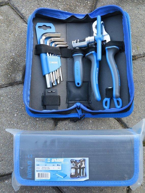 Unior Tools 1600A - 5 piece bike tool