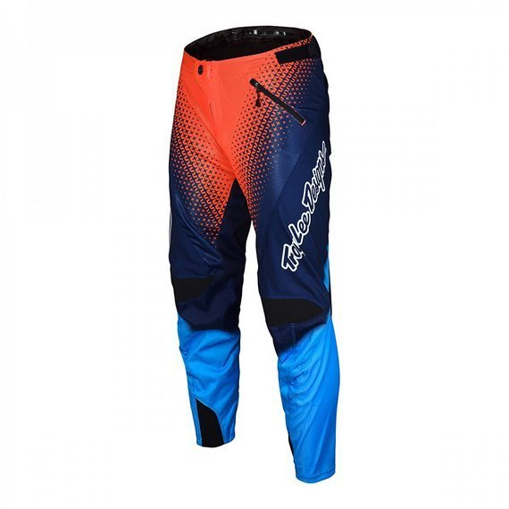 Troy Lee Designs Gr. 34 SPRINT PANT STARBURST NAVY / ORANGE