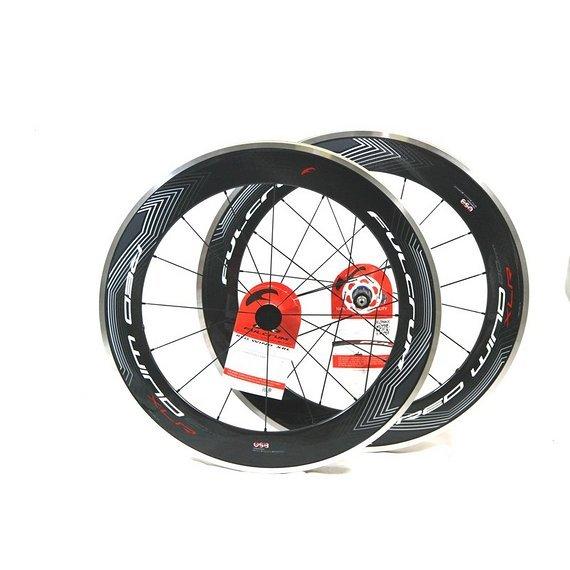 Fulcrum Laufradsatz CARBON Fulcrum Red Wind XLR 80 CULT 9 bis 11f. Shimano für Drahtreifen