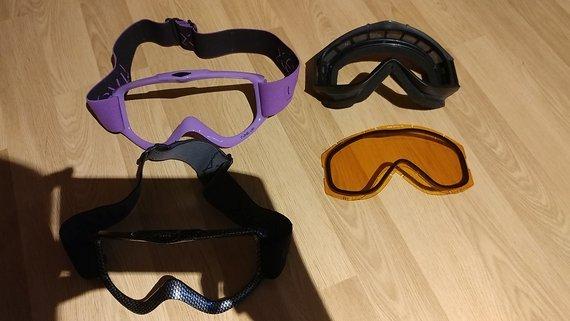 Uvex Tune Up Goggle mit zwei Wechselrahmen