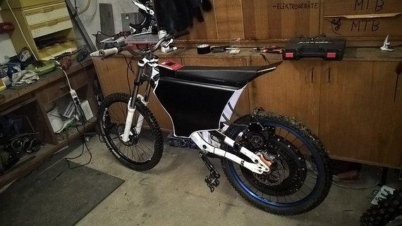 E-Bike Ktm Aphex mit ADEN POWER KIT RACE 7000Watt