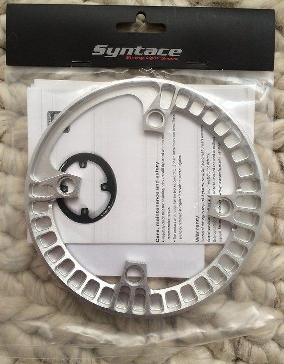 Syntace Grinder 34/36 silber
