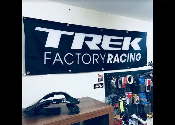 Trek Factory Racing Werbebanner, Flagge, Transparent - NEU