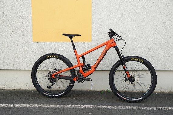 Santa Cruz Nomad CC X01 Gr. L 27.5 Orange and Carbon 2019 sofort Lieferbar