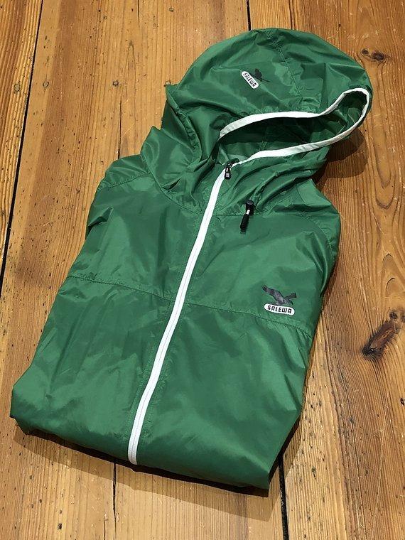 Salewa MTB Jacke sehr leicht, kleines Packmaß