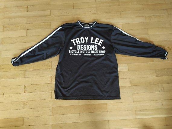 Troy Lee Designs Super Retro Jersey schwarz, S