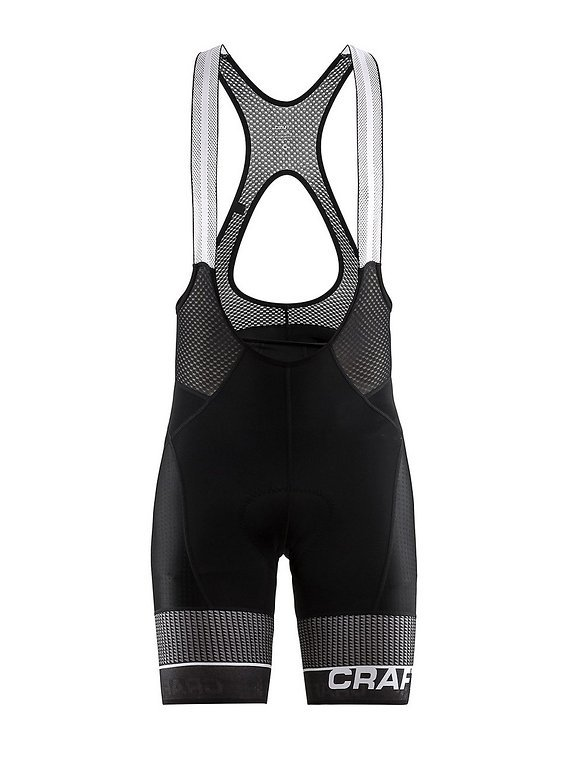 Craft Route Bib Short - Fahrrad Trägerhose mit Polster und UV Schutz Neu