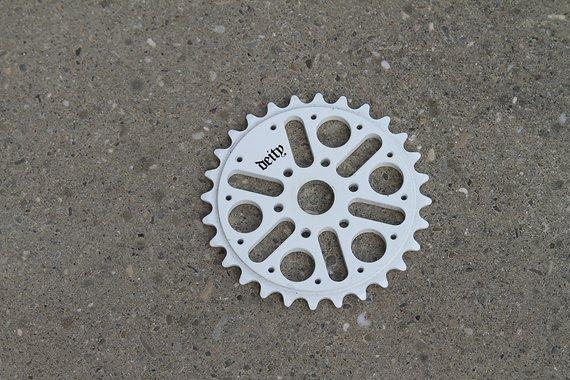 Deity  BMX Kettenblatt weiß