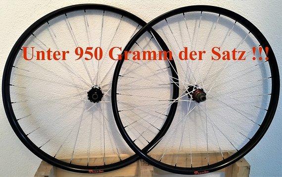 Truebc True Ultimate Carbon XC Racing Wheel unter 950gramm/Satz!!!