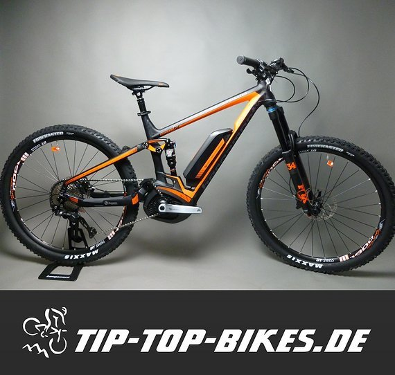 Bergamont E-Trailster 8.0 Fully E-Bike - NEURAD 2017 UVP € 4499 Testbike