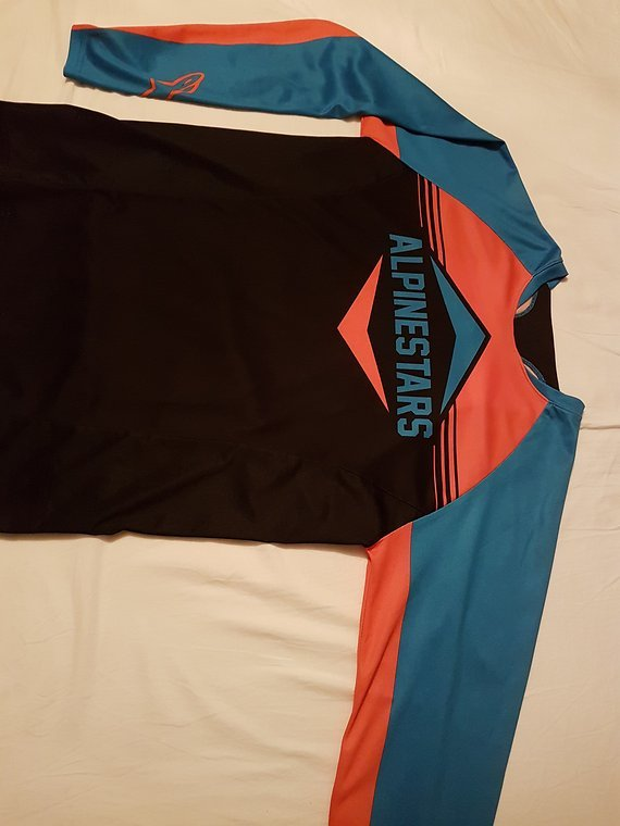 Alpinestars Langarm Trikot XL Enduro, All Mountain, Downhill