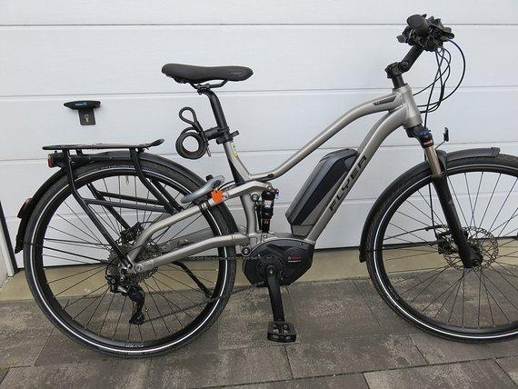 Flyer Tx 7.10 Fs M E-Trekking-Rad, Vollgefedert, Modell 2018