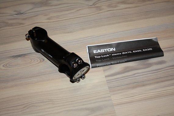 Easton EA30 Vorbau 31.8x105mm schwarz