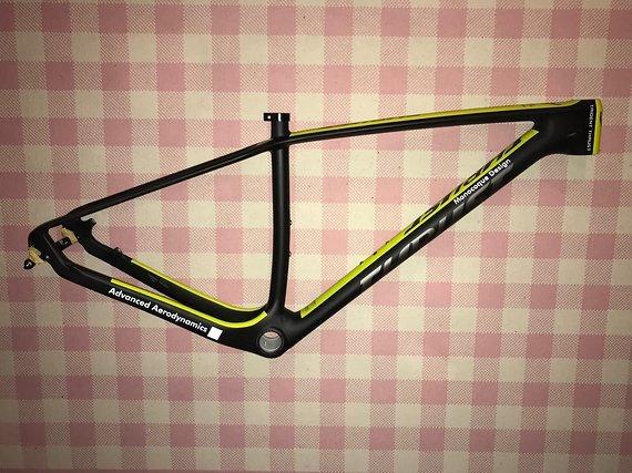 +++Preisupdate+++    Thrust Neuer Carbonrahmen in mattschwarz/gelb