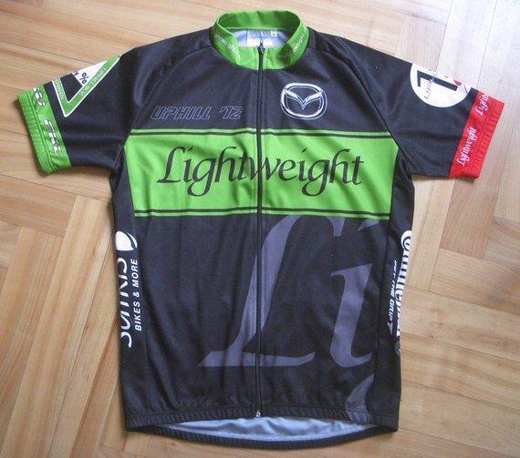 Lightweight Uphill Only Trikot 2012, Größe M, neuwertig!