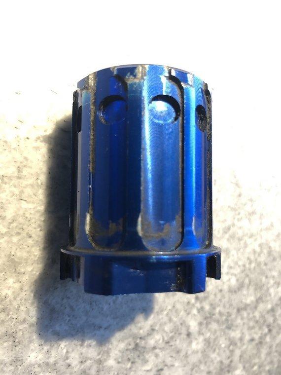 Tune Freilaufkörper Skyline 17mm Shimano blau Freilauf