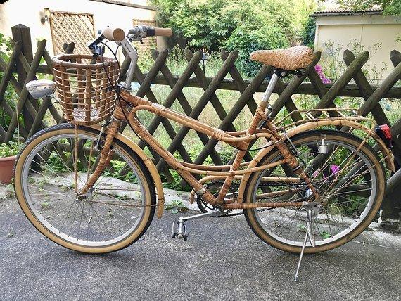 """Bambus Citybike 26"""" Vintage Style"""