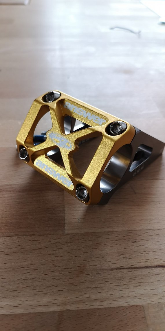 Answer Direct Mount gold 45 - 55