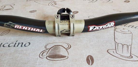 Renthal Fatbar Carbon 780x31.8mm, 20mm Rise + Apex 50mm
