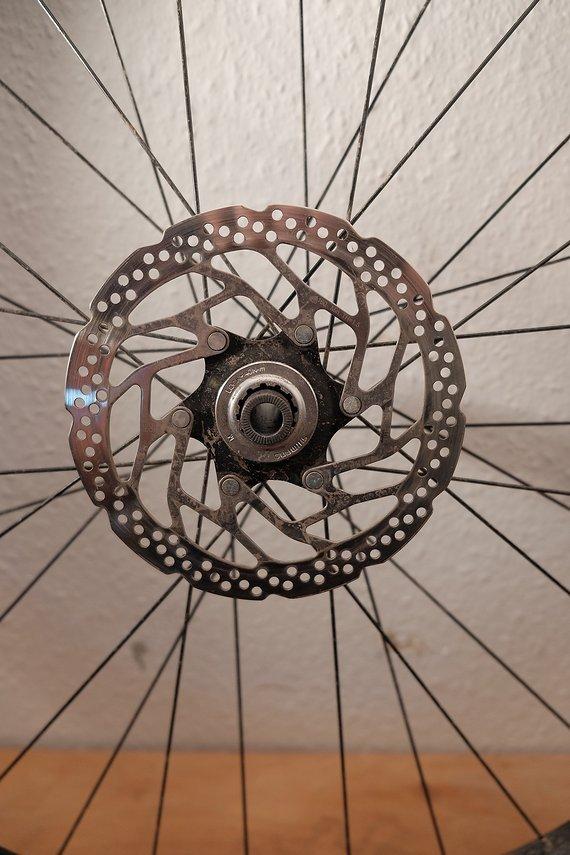 Shimano 29er Laufradsatz mit Mänteln&Schläuchen