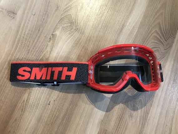 Smith Optics Squad MTB Goggle Rot wie neu
