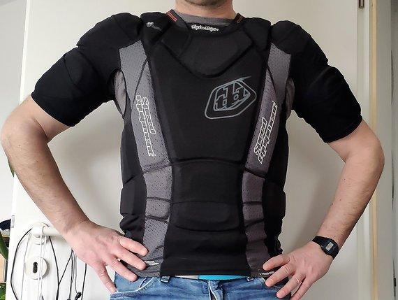 Troy Lee Designs HW 7850 Protektorenshirt Größe M