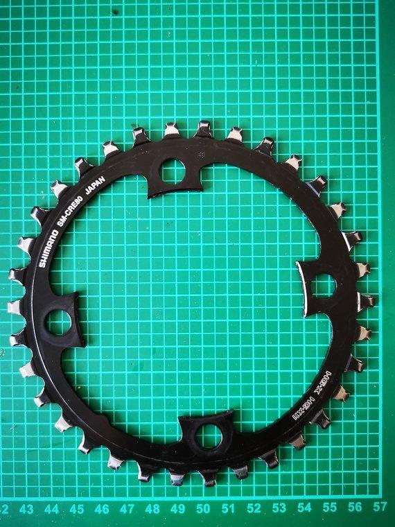 Shimano E-Bike Kettenblatt 34 Zähne SM-CRE80 - Shimano Steps