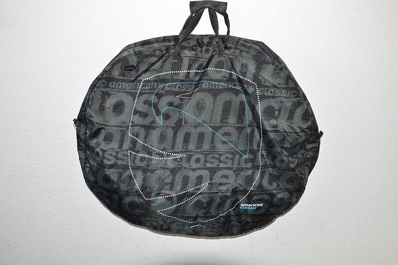 American Classic Laufradtasche ,Doppellaufradtasche für 2 Laufräder