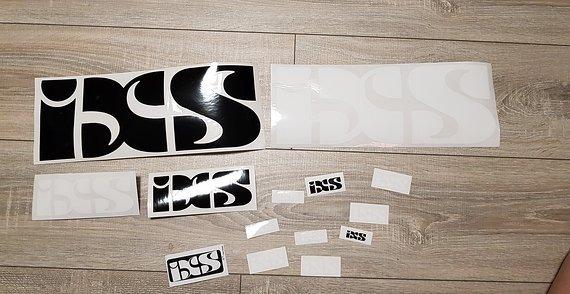 IXS Sticker Aufkleber