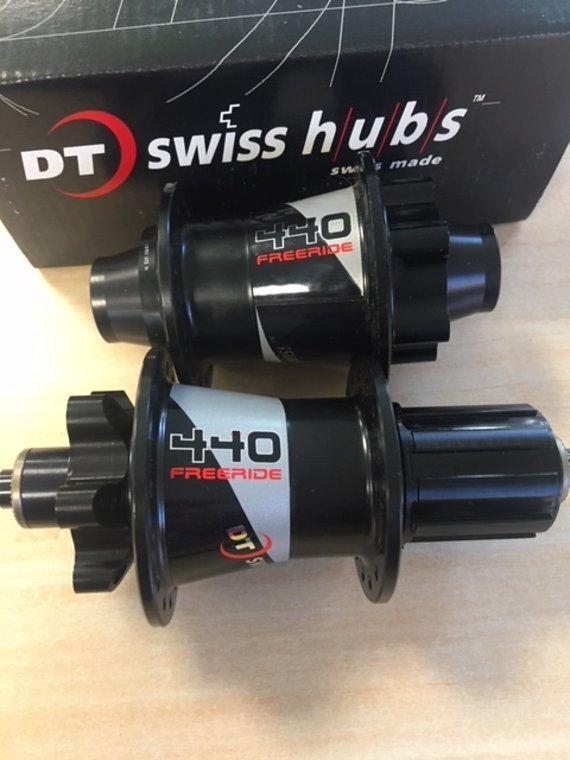 DT Swiss FR440 FreeRide Nabensatz 32L