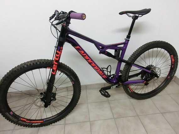 Cannondale Habit SE 2017 Medium Purple