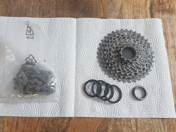 SRAM 10x Kassette inkl. passender Kette