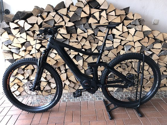 Cube Stereo Hybrid 120 HPC SL Bosch E-Bike Custom