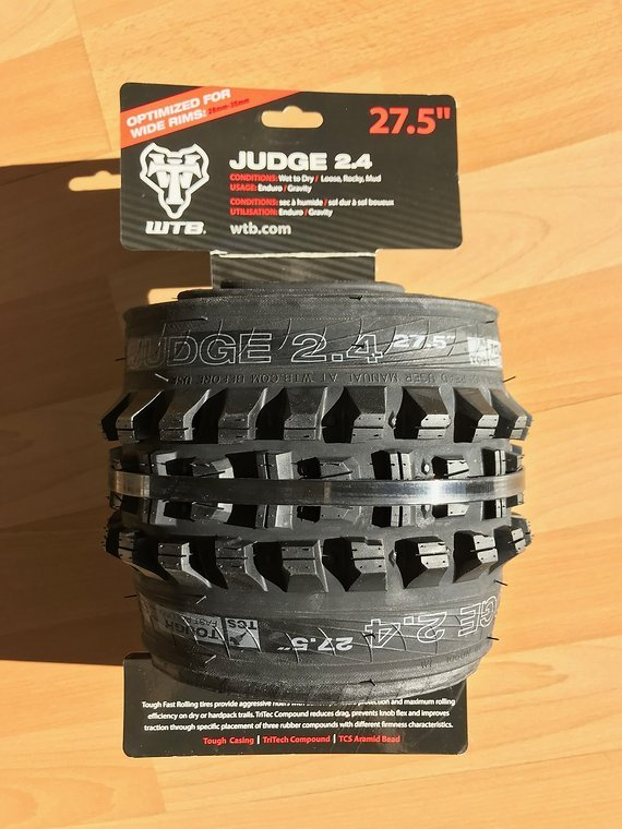 "WTB Judge 27,5"" x 2,4 Tough Fast Rolling >50% Rabatt"