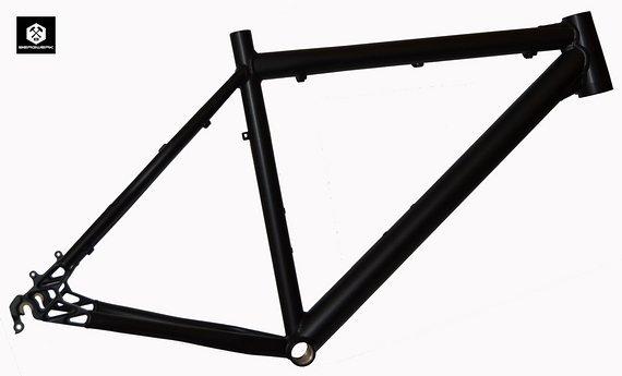 "Bergwerk Mercury Mountainbike Rahmen 52 cm in schwarz matt 26"" NR772"