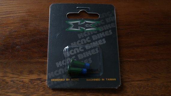 Kcnc Schrauben für Schaltwerksröllchen, grün