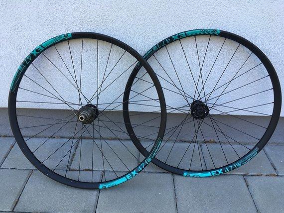DT Swiss Ex471 / Pancho Wheels 27.5 Laufradsatz