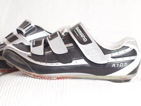 Shimano Rennradschuhe R 105 Gr. 47