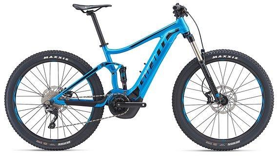 Giant Stance E+ 2 Power 25km/h Metallic Blue 2019 XL