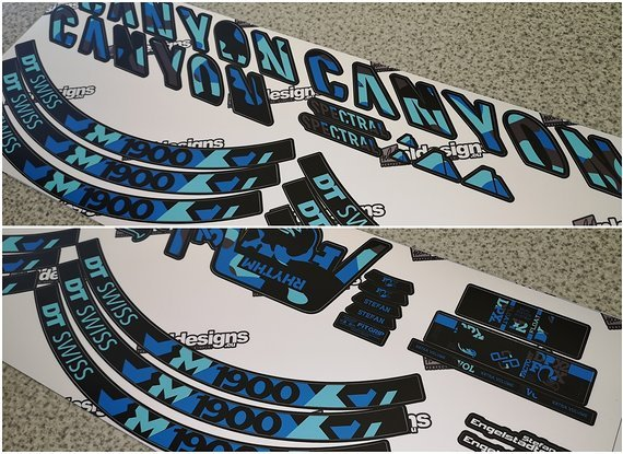 Canyon Spectral decal