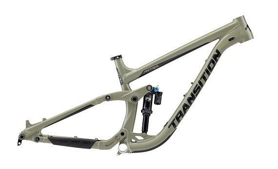 Transition Bikes 2019 PATROL Rahmenkit inkl. Fox DPX2 Performance Elite - Größe L