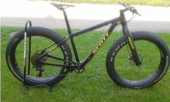 Scott Bike Ed  Fat Bike